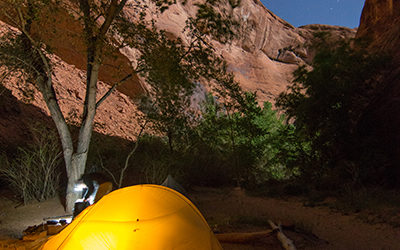 Full Moon in Coyote Gulch