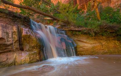 Coyote Gulch Falls