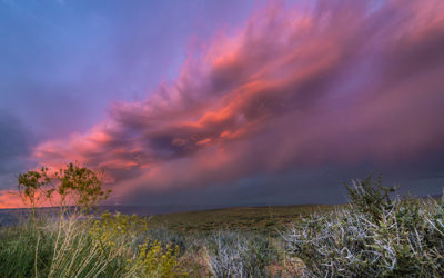 Crazy Evening Storm