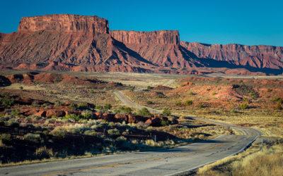 Drive Along HWY 128