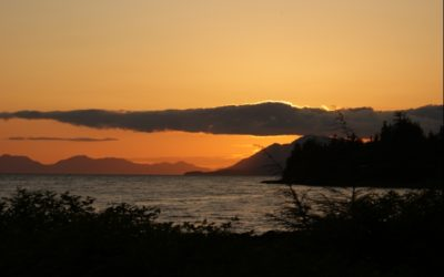 Southeast Alaska Sunset