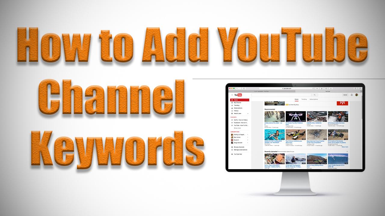 keywords channel