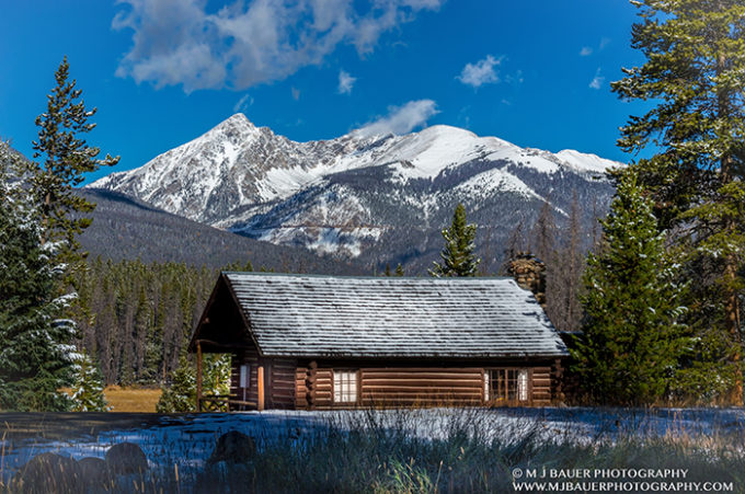 Rocky Mountain National Park Cabin M J Bauer Photography