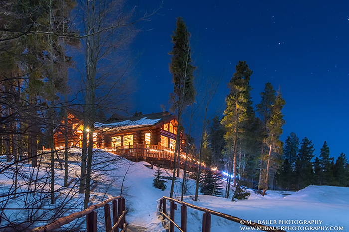 Night Glow of the Griffith Lodge