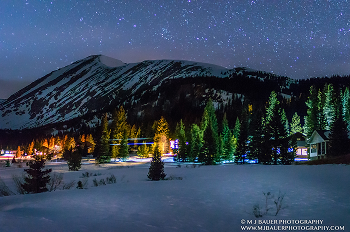 Quandary Mountain Stood Tall Under the Stars