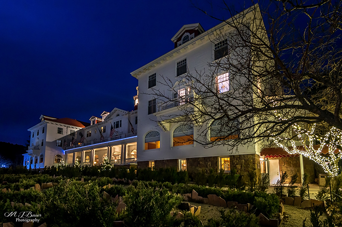 Evening at the Stanley Historic Hotel