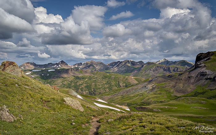 Trail into Weminuche Wilderness