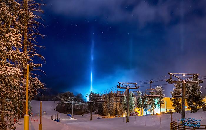 Winter Snow Pillars